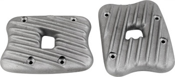 EMD - Ribber Rocker Covers fit '86-'03 XL Sportster - Raw