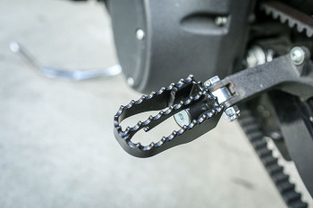 Burly Brand - Mini MX Style Black Footpegs