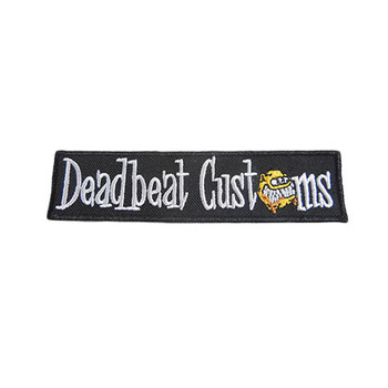 Deadbeat Customs - Classic Logo Patch
