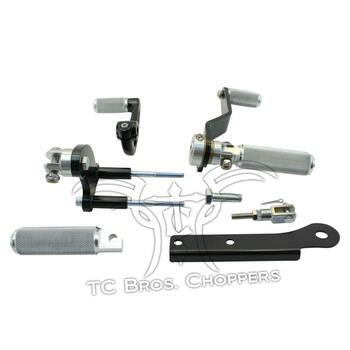 TC Bros Choppers - Sportster Mid Controls Kit for '91-'03 5 Speed
