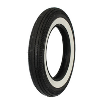 "Coker Tires - Replica Super Eagle 5.00 X 16"" Wide Whitewall"