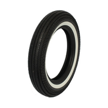 "Coker Tires - Replica Super Eagle Shinko HD270 5.00 X 16"" Narrow Whitewall"