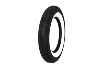 "Coker Tires - Replica Tire 5.00 X 16"" Wide Whitewall"