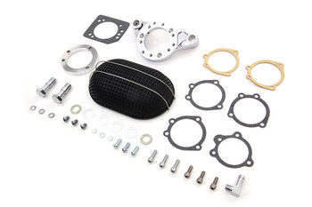 V-Twin - Air Cleaner Assembly Kit Black - Fits Harley XL Sportster '91-Up