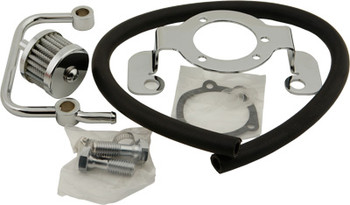 HardDrive - Air Cleaner Bracket/Breather Kit - Fits '91-'06 XL Models