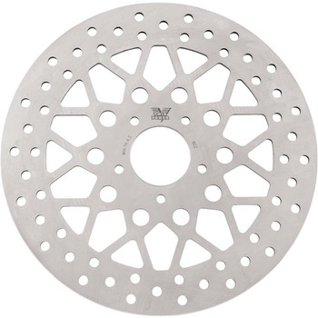 Twin Power - Front Rotor Solid Mesh - Fits '06-'14 Dynas