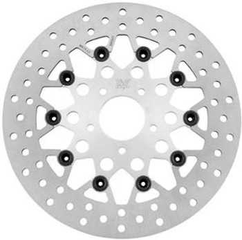 Twin Power - Front Rotor Floating Mesh - Fits '84-'15 HD Models (exc. '06-'15 Dynas, '08-'14 Touring, 14XL, FXSB)
