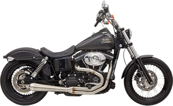Bassani - Road Rage III 2-into-1 Exhaust Systems Stainless - Fits  '91-'16 FXD (see chart)