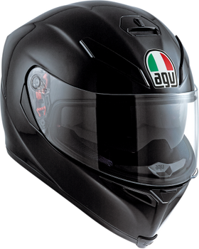 AGV K-5 S Full Face Helmet - Gloss Black
