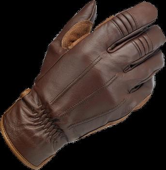 Biltwell Work Gloves - Chocolate