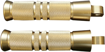 Accutronix - Brass Foot Pegs - Knurled/Grooved