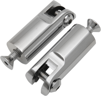 """Accutronix - Footpeg Mounts - 2 1/2"""" Front Peg Mounts with 3/8""""-16 x 1 1/2"""" Mounting Bolts"""
