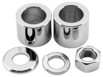 Colony - Rear Axle Nut and Spacer Kits - Fits Sportsters