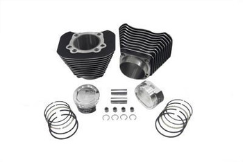 V-Twin - 1200cc Cylinder and Piston Conversion Kit fits '04-Up XL - Black