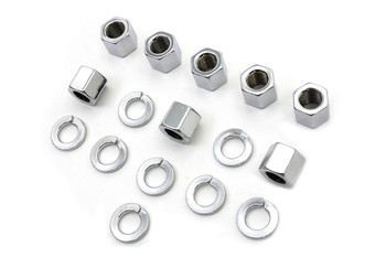 Colony - Stock Cylinder Base Nuts and Washers - '57-'85 XL
