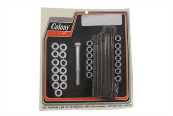 Colony - Stock Engine Case Bolt Kit - fits '65-'69 FL