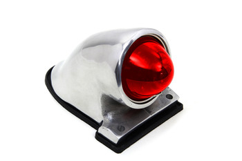 V-Twin - PK Style Tail Lamp - Polished Aluminum