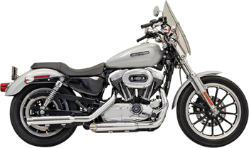 "Bassani - 3"" Firepower Series Slip-on Muffler - Chrome fits '04-'13 XL"