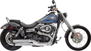 "Bassani - 3"" Firepower Series Slip-on Muffler - Chrome fits '10-'16 FXDWG, '08-'16 FXDF"