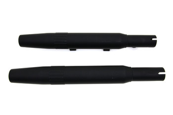 V-Twin - Slip-on Muffler Set - Black fits '04-'13 XL
