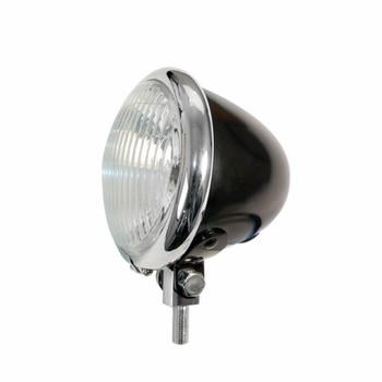 """EMGO - 4 1/2"""" Bates Style Spotlamp - Black"""