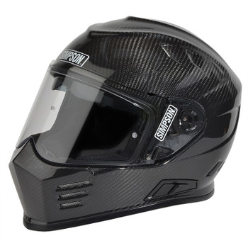 Simpson Helmets - Ghost Bandit DOT Approved Helmet - Carbon Fiber