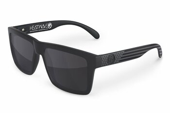 HeatWave Visual - Vise Sunglasses Stars and Stripes Black Ops - Black Lens