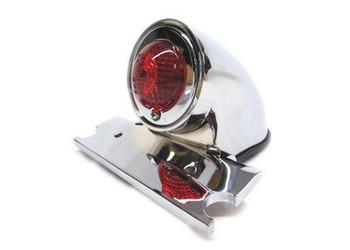 V-Twin Sparto Tail Light 12V - Chrome