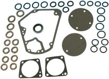 James Gaskets - Cam Cover Gasket Seal Kit - fits '70-'92 FL, FLH, FLT, FXR, Softail