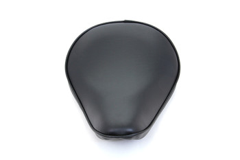 V-Twin - Bates Style Small Smooth Solo Seat - Thin