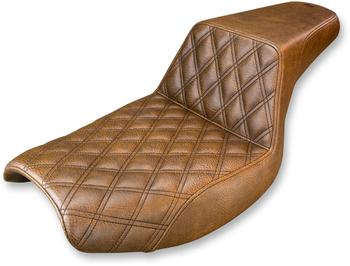 Saddlemen - Step Up Diamond Stitch Seat - fits '82-'00 FXR