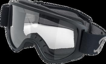 Biltwell Moto Goggles 2.0 - Script Black
