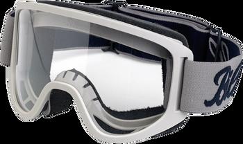 Biltwell Moto Goggles 2.0 - Script Titanium