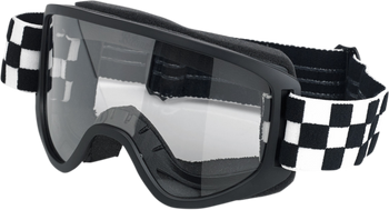 Biltwell Moto Goggles 2.0 - Checkers