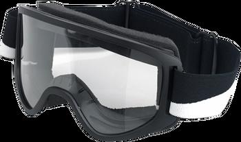 Biltwell Moto Goggles 2.0 - Bolts Black