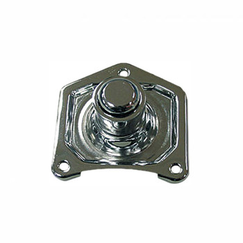 HardDrive - Direct Starter Button - fits '90-Up Big Twin and Sportster Models - Chrome
