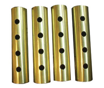 Old-STF Cycles - Brass Pushrod Keeper Set for Big Twin and Sportster (see desc.)