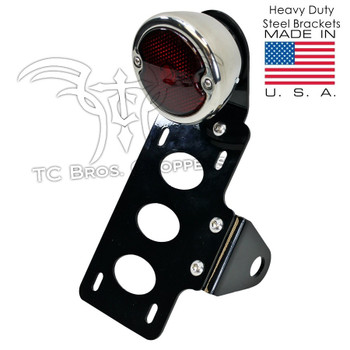 TC Bros Choppers - 33 Ford Replica Tail Light License Plate Bracket