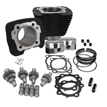 S&S - Hooligan Kit - fits '00-'16 XL 883 - Black