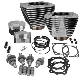 S&S - Hooligan Kit - fits '00-'16 XL 1200 - Silver