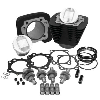 S&S - Hooligan Kit - fits '00-'16 XL 1200 - Black