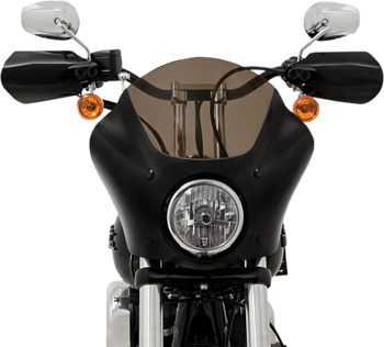 Memphis Shades Handguards - Black Opaque fits '96-'17 Dyna (except '16-'17 FXDLS Dyna Low Rider) '96-14 FXST/FLST, '96-'03 XL