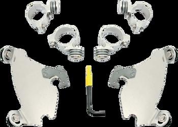 Memphis Shades Gauntlet Trigger-Lock Mount Kit - fits Harley XL and XG Models (see desc.)(choose finish)