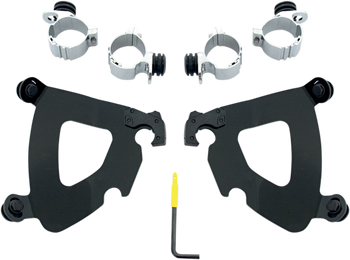Memphis Shades - Trigger-Lock Mount Kit - fits '10-'17 XL 1200X Forty-Eight (choose finish)
