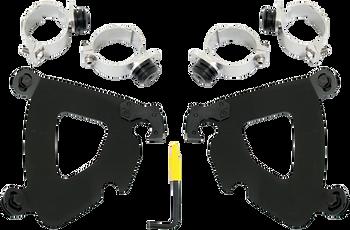 Memphis Shades - Trigger-Lock Mount Kit - fits '06-'16 FXD/FXDC/FXDB/FXD35, '06-'09 FXDL (choose finish)