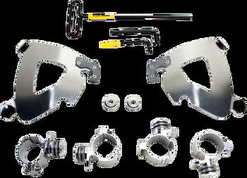 Memphis Shades - Trigger-Lock Mount Kit - Polished fits '11-'16 XL 1200