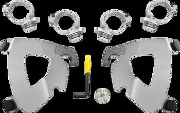 Memphis Shades Gauntlet Trigger-Lock Mount Kit - fits '14-'16 FXDL (choose finish)