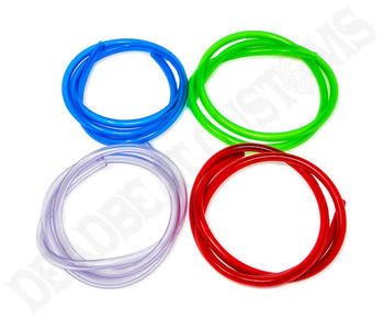 Translucent Fuel Line - 1/4 inch ID - 4' - Choose Color