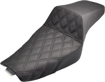 Saddlemen - Step Up Diamond Stitched Seat - fits '04-'20 Sportsters (see desc.)