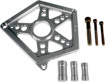 Joker Machine - Front Sprocket Cover - Clear Anodized fits '04-'17 XL Models
